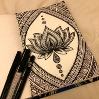 Zentangle : quand le zen se fait brouillon