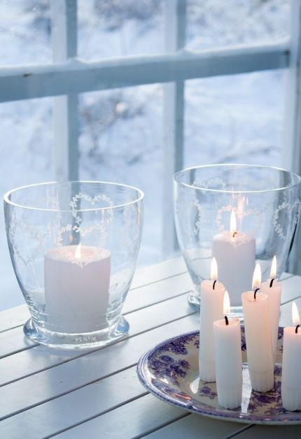 bougies-neige
